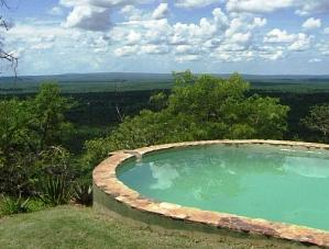 Chizarira lodge pool
