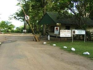 Entrance Mopani Bay Camp
